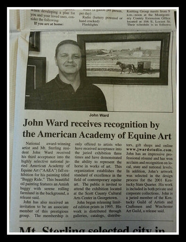 American Academy of Equine Art John Ward