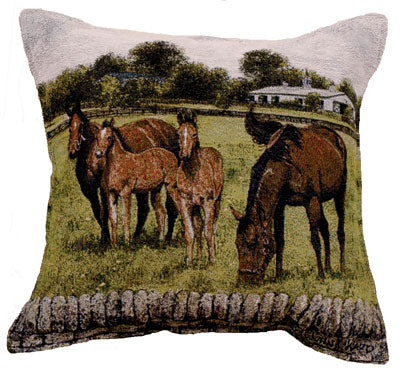 Bourbon County Splendor pillow by John Ward www.jwardstudio.com