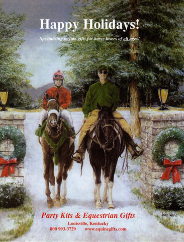 Equestrian Magazine Cover John Ward Holiday Horsemen
