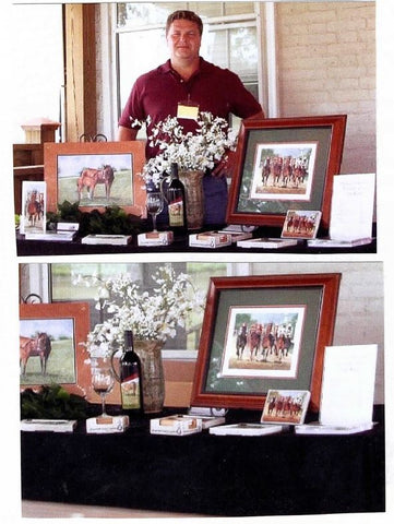 John Ward Mothers Love Talon Winery Equestrian Series Wine Release
