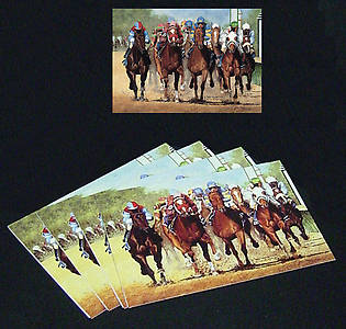 Thundering Hooves Note Cards by John Ward www.jwardstudio.com