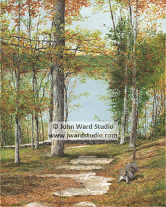 Come September Kentucky 4-H by John Ward www.jwardstudio.com squirrel lake