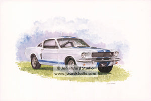 Mustang by John Ward www.jwardstudio.com sports car classic vintage