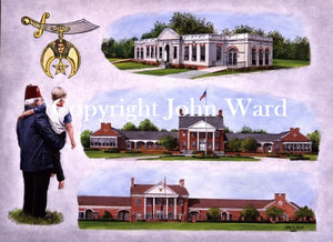 Shriners Hospital by John Ward www.jwardstudio.com Lexington Kentucky rendering