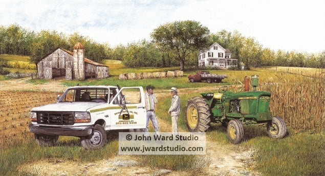 The Tradition Continues by John Ward Bevins Motor Company John Deere Farm