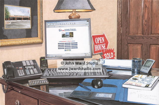 Tools of the Trade by John Ward www.jwardstudio.com LBAR Real Estate Lexington-Bluegrass Association of Realtors