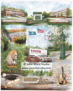 Toyota Partnerships by John Ward www.jwardstudio.com TMMK Georgetown Kentucky