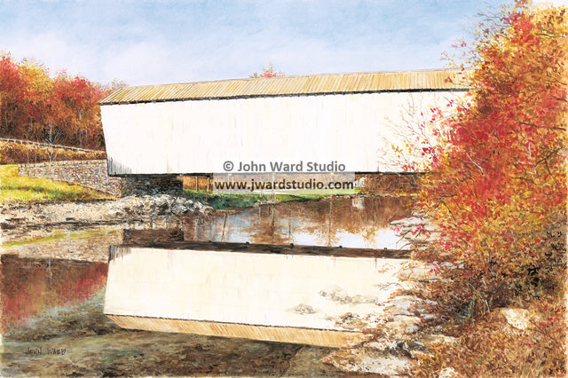 Walcott Covered Bridge by John Ward www.jwardstudio.com Bracken County Kentucky