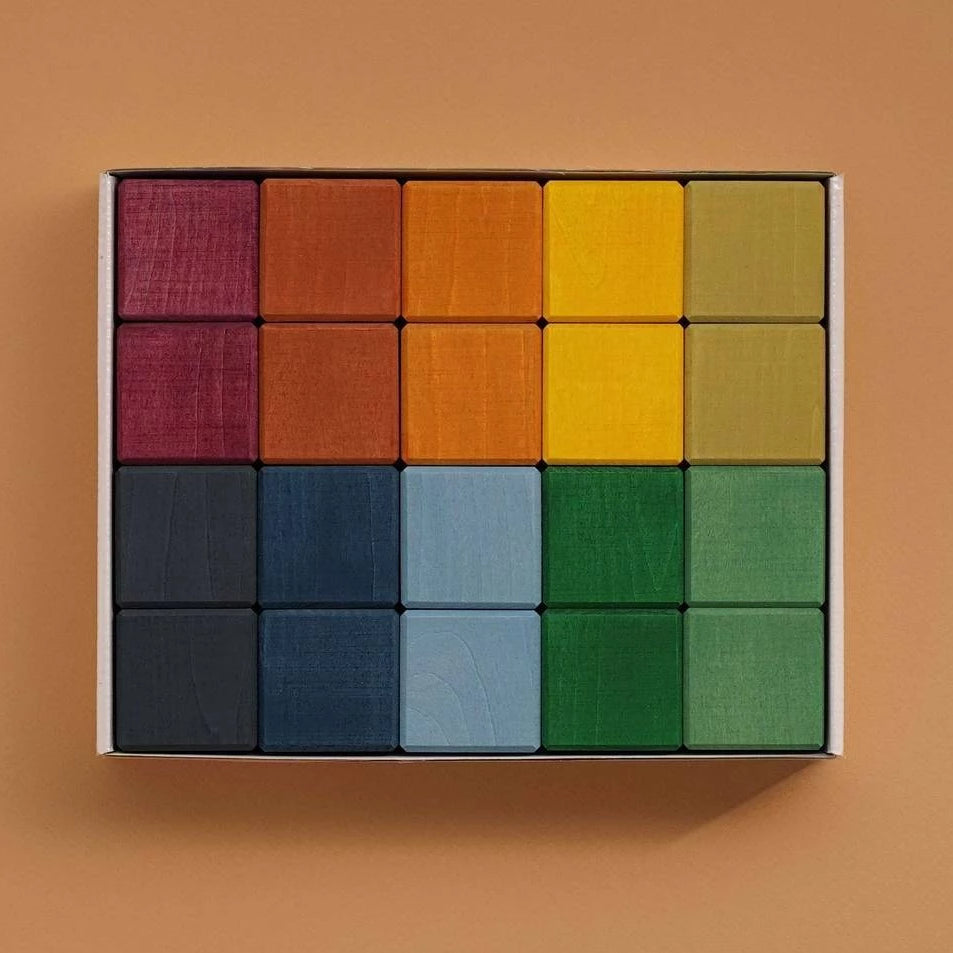 Raduga Grez Earth Colours Cubes Set