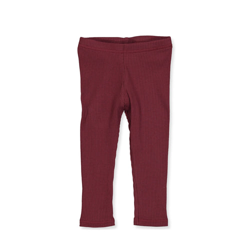 Müsli by Green Cotton Cosy Rib Leggings - Truffle