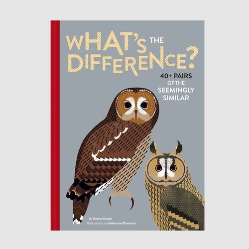 Abrams & Chronicle Books What's the Difference - Emma Strack/Guillaume Plantevin