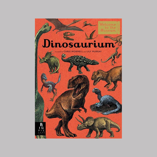 Templar Publishing Dinosaurium - Chris Wormell/Lily Murray