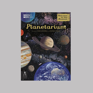 Bonnier Books Templar Publishing Planetarium - Raman Prinja/Chris Wormell