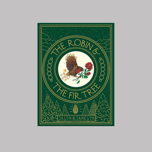 Bonnier Books Templar Publishing The Robin and the Fir Tree - Jason Jameson