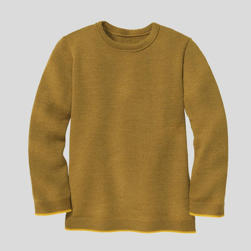 Disana Organic Merino Basic Jumper - Gold