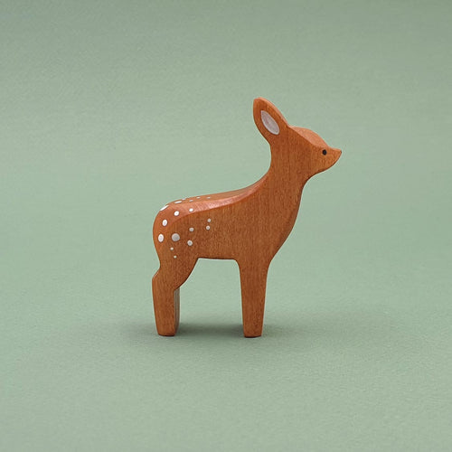 Brin d'Ours handmade in France wooden Fawn