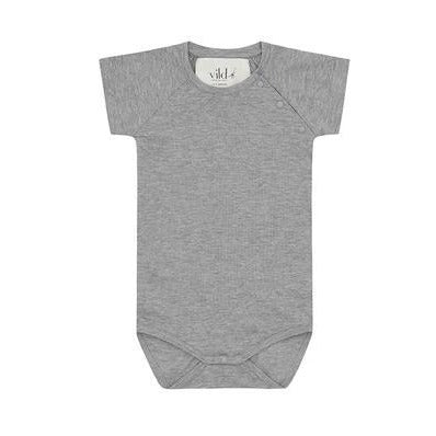 Vild House Of Little Grey Melange Seacell Bodysuit