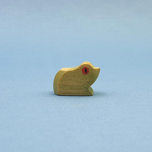 Brin d'Ours handmade in France wooden Frog