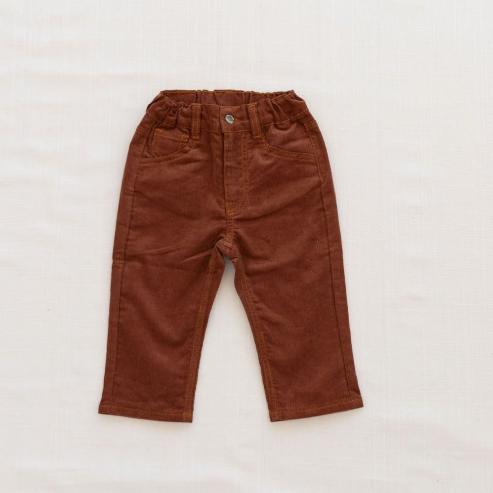 Fin & Vince Corduroy Trousers - Caramel