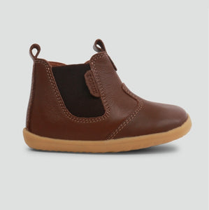 Bobux Jodhpur Toffee Brown Chelsea Boot 18 19 20 21 22 Step Up