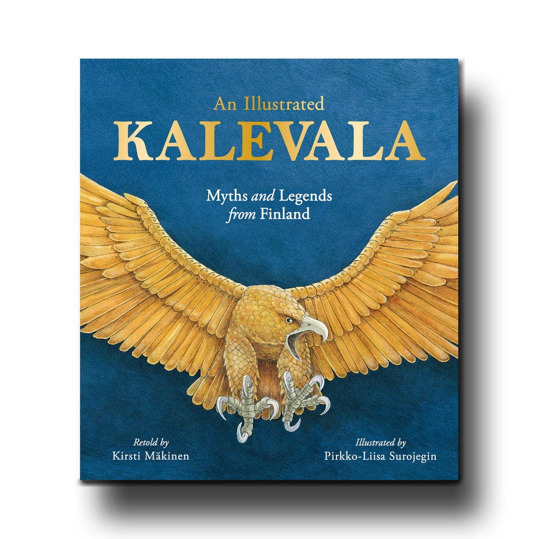 Floris Books An Illustrated Kalevala Myths and Legends from Finland - Kirsti Mäkinen