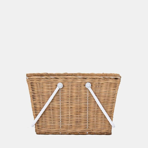 Olli Ella Medium Piki Basket - Natural