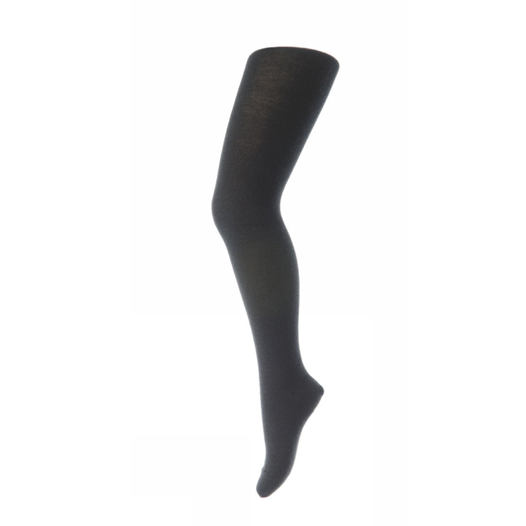 MP Denmark Plain Tights - Wool/Cotton - Anthracite