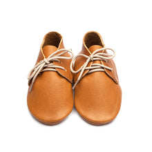 Wolfie + Willow Milo Leather Moccasins Tan