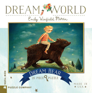 New York Puzzle Company Dream Bear - 20 Piece Mini Puzzle