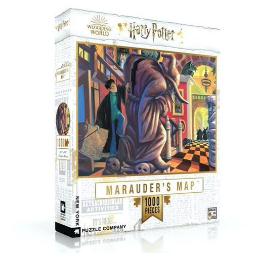 New York Puzzle Company The Marauders Map - 1000 Piece Puzzle