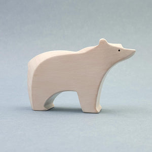 Brin d'Ours handmade in France wooden Polar Bear