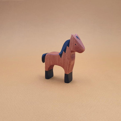 Brin d'Ours handmade in France wooden Bay Foal