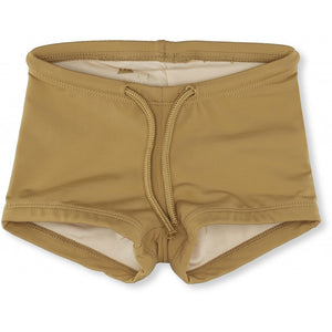 Konges Slojd Uni Swim Shorts - Mustard