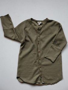 The Shirt Dress - Olive