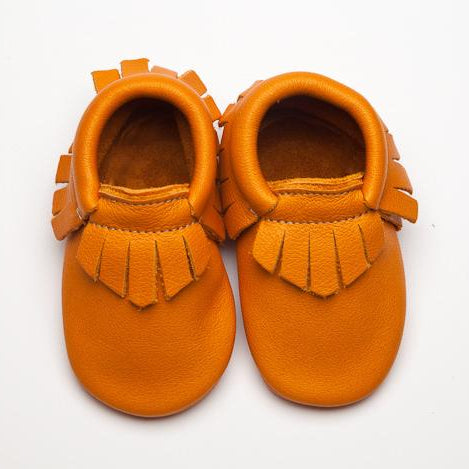 Wolfie + Willow Classic Sienna Moccasins Tan eco leather