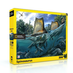 New York Puzzle Company Spinosaurus - 200 Piece Puzzle - National Geographic