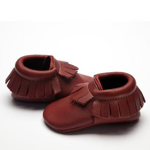 Wolfie + Willow Classic Plum Moccasins eco leather
