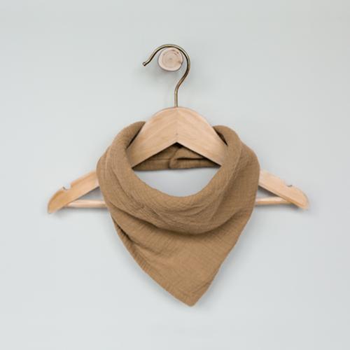The Simple Folk The Muslin Bandana - Camel