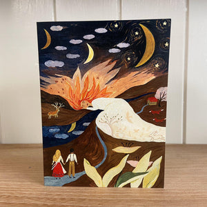 Tijana Lukovic Sleeping Sun Card