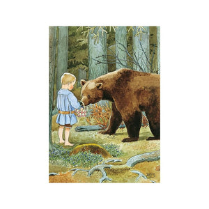 Elsa Beskow - Mother's Little Olle Poster