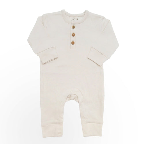 Lucy Lue Organics Organic Coverall - Oatmeal