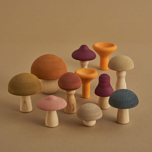 Raduga Grez Wooden Mushrooms