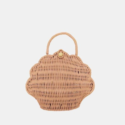 Olli Ella Shell Bag - Rose