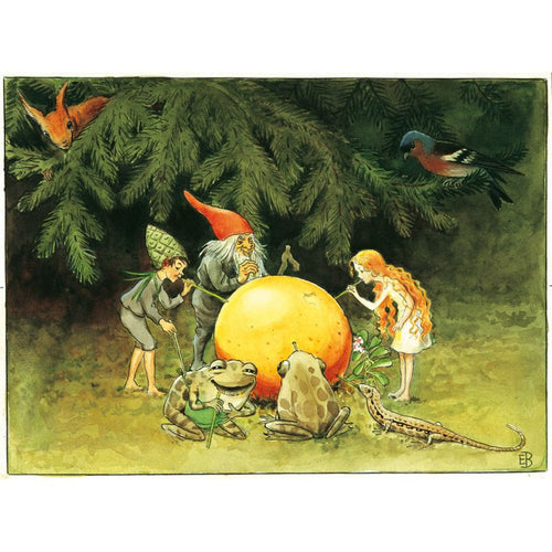Elsa Beskow - The Sun Egg Mini Poster