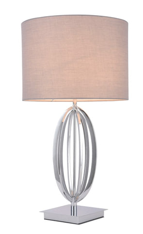 408 TABLE LAMP CHROME