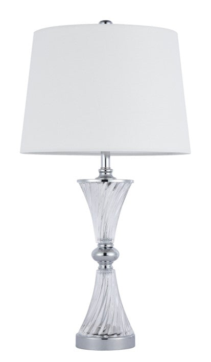 418 TABLE LAMP CHROME
