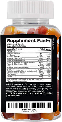 CLINICAL DAILY Complete Daily Multivitamin Gummy from SaRe Wellness - Where Healthy Families Thrive