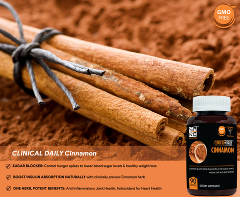 Image of CLINICAL DAILY Cassia Cinnamon from SaRe Wellness - Where Healthy Families Thrive