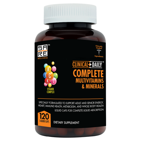 CLINICAL DAILY COMPLETE Adult Liquid Multivitamins & Minerals - SaRe Wellness - Where Healthy Families Thrive