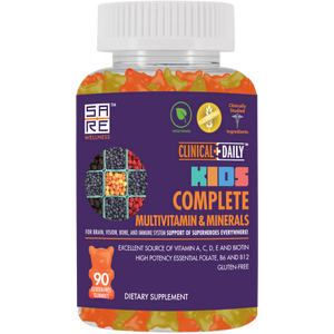 CLINICAL DAILY COMPLETE Kid's Gummy Multivitamins and Minerals from SaRe Wellness - Where Healthy Families Thrive
